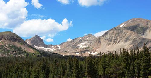 Mt. Toll from Brainard Lake
