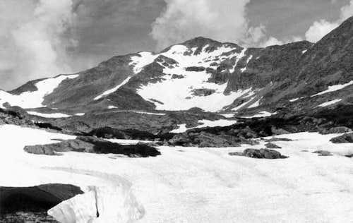 Paiute Peak in 1984