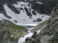Ice Lake in July, 2004 on the...