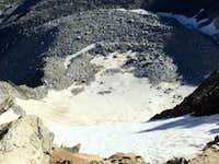 Looking Down the North Glacier