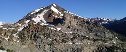 The Sphinx and Tioga Peak from the Approach to Ellery Ridges