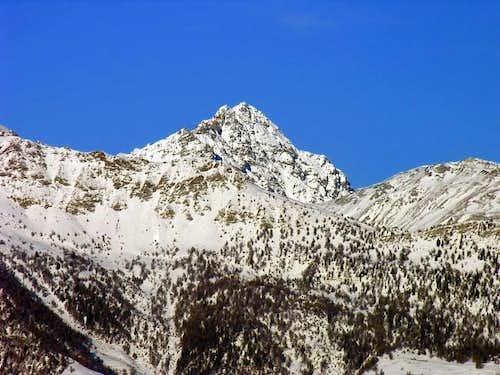 monte Faroma (3073 m), south...