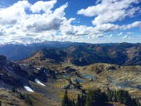 Alpine Lakes from Yellow Aster Butte