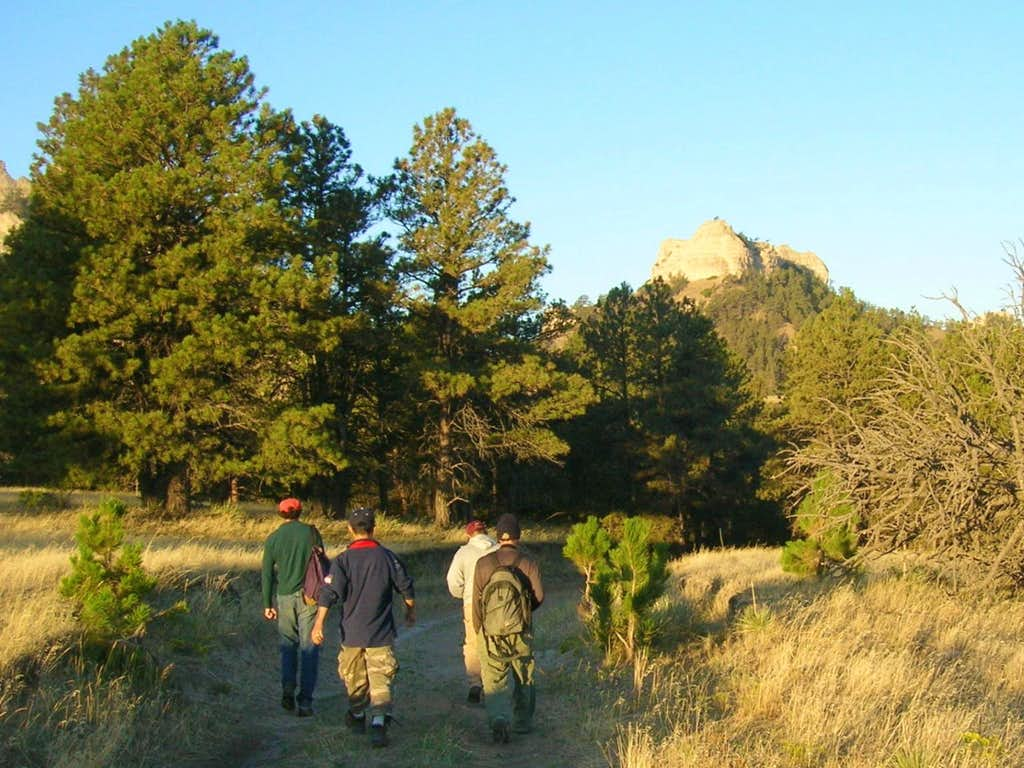 Heading for Crow Butte