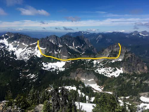Lane Towards Wahpenayo Ridge