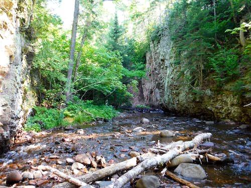 Early Kadunce River Scenery