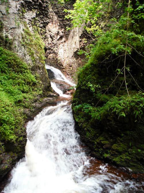 Your Route through Kadunce Canyon