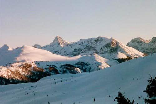 Mt. Assiniboine (horn peak...