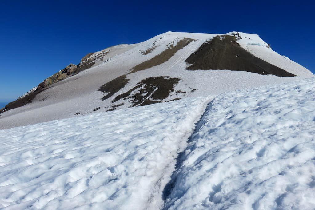 Summit pyramid on Mount Adams