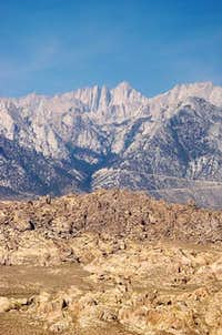 Mt. Whitney as seen from...