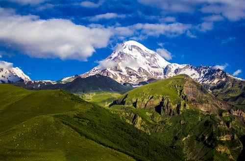 Mount Kazbek - Normal Route