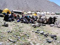 Muztagh Ata, Base Camp