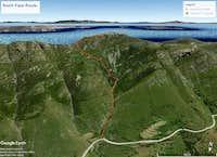 NorthFcae Route Tsiknias