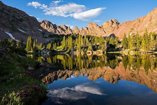 Zodiac Ridge Reflection
