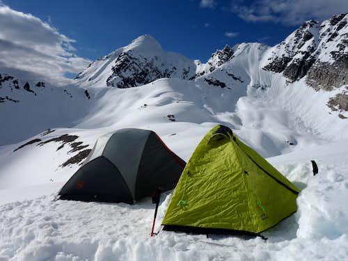 Camp for Sir Donald