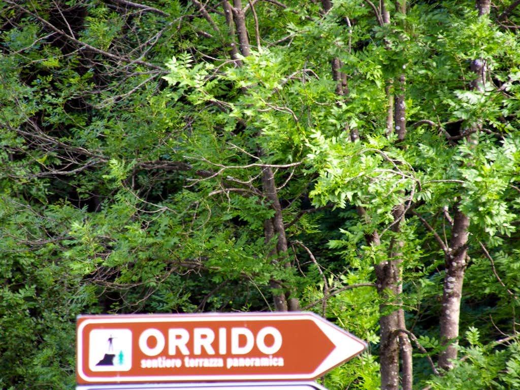 The trail ... decisilively to Pré St. Didier Ravine 2017