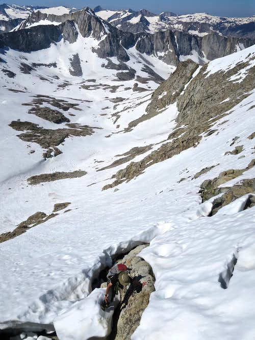 Exiting Snowfield