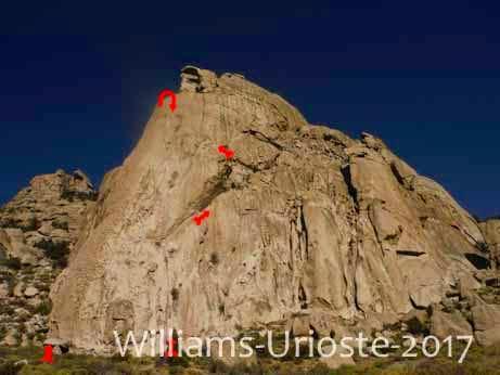 Granite Basin, 5.7-5.11c