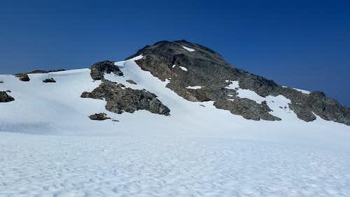 Brandywine Mountain over the glacier
