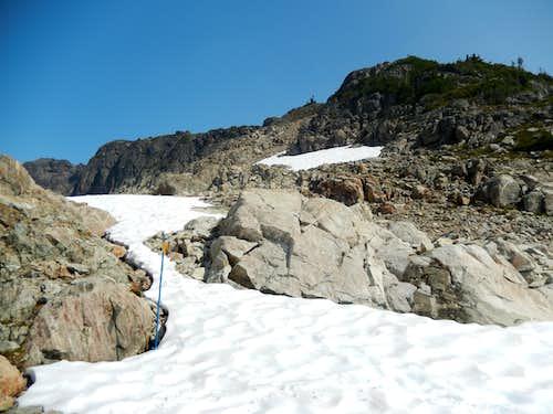 Route of SW Ridge of Brandywine