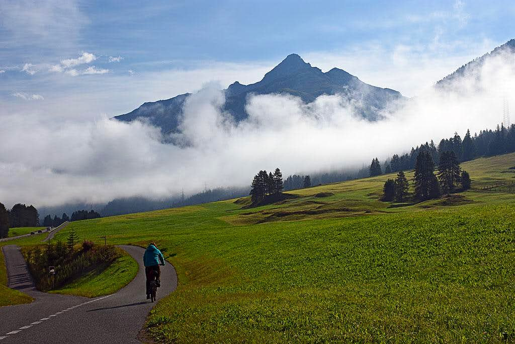 Engadin biking
