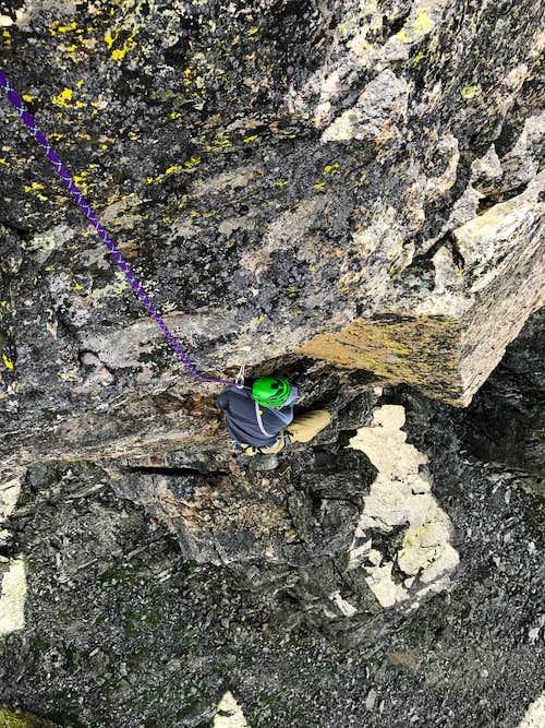 Aron Climbs Dickers Peck