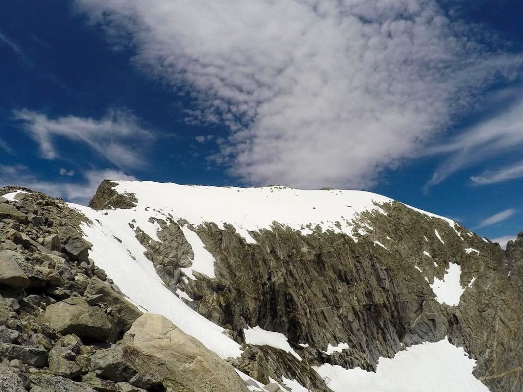 Gannett's upper mountain