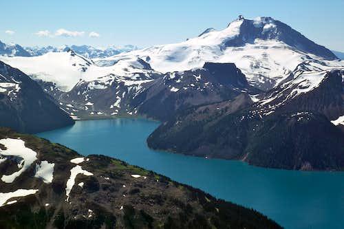 Mt. Garibaldi and Garibaldi Lake