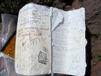 Sierra Club logbook from 1963