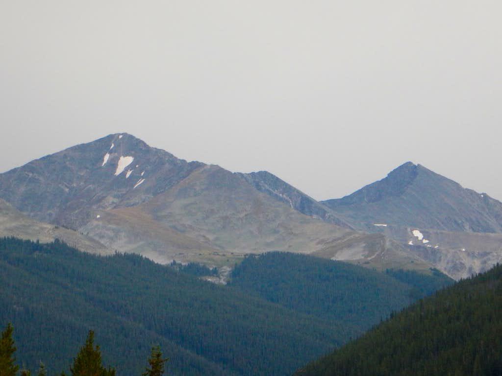 Peak 10 and Pacific Peak