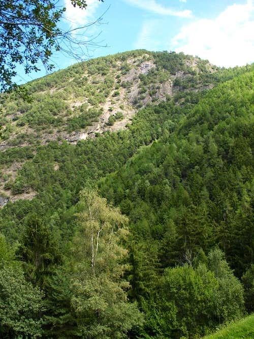 Mont St. Julien <i>(1384m)</i>  from Pieiller-de-Sermoz 2017