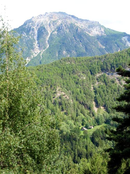 Mont Chermontane West Face from Pieiller Vallon 2017