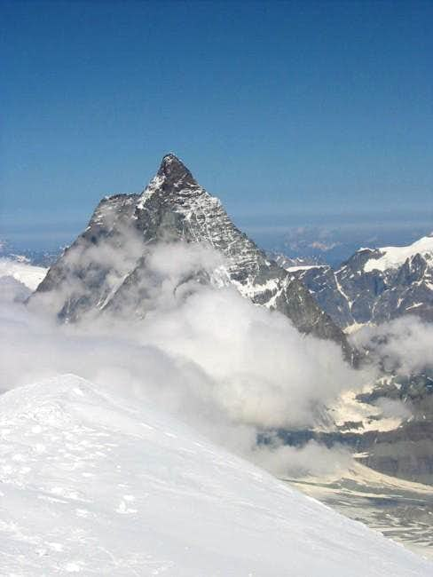 Matterhorn from Breithorn...