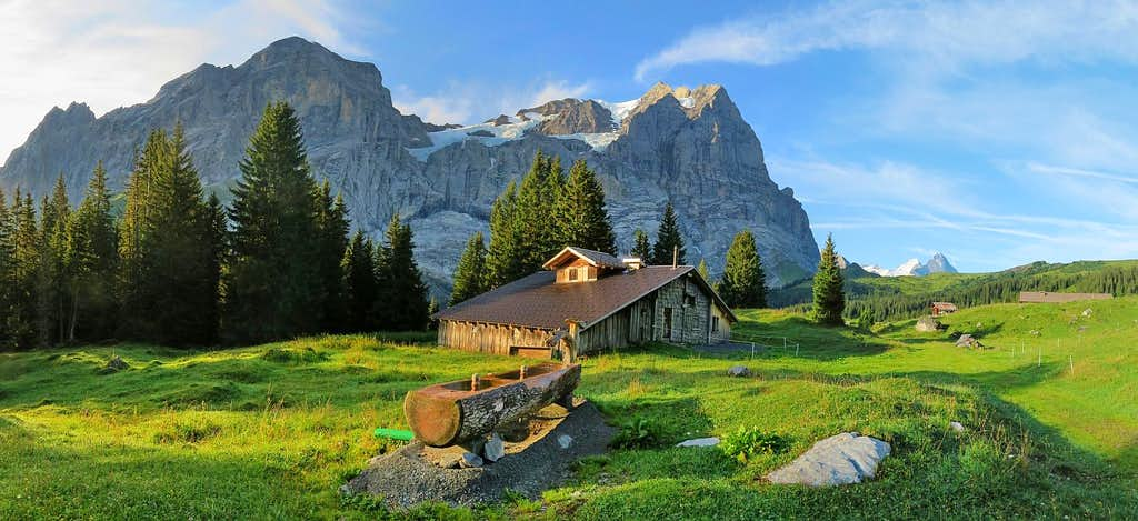 Beautiful morning in Schwarzwaldalp