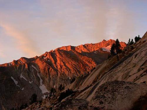 The slopes of White Mountain...
