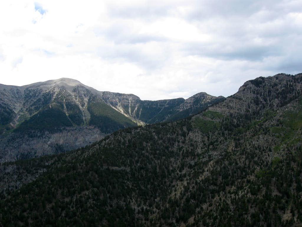 Charleston Peak & Lee Peak