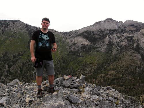 WOLFrising on the Summit of Cockscomb Ridge