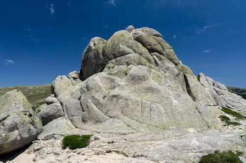Rock dome in Pedriza Posterior