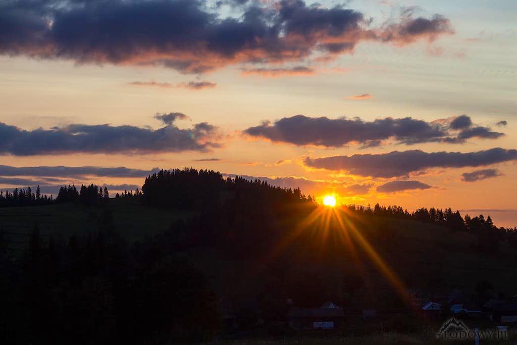 Lapszanka sunrise