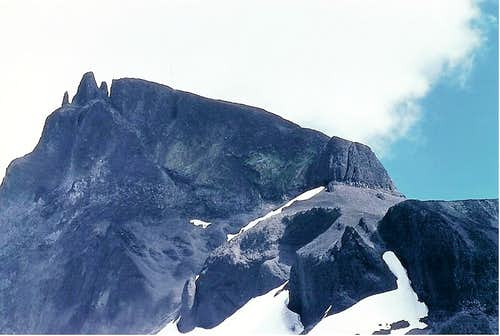 Black Tusk from West