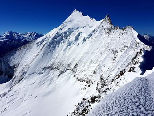 Weisshorn from the top
