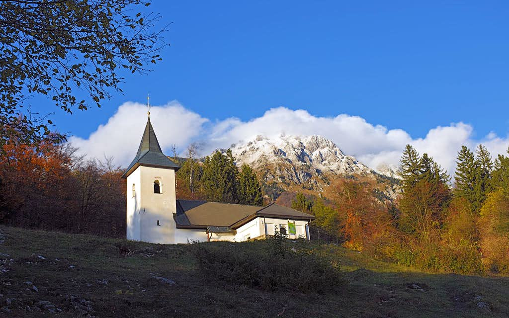 St. Lovrenc church