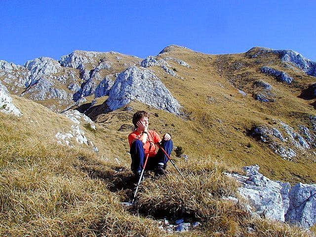 On the SW ridge of Storzic