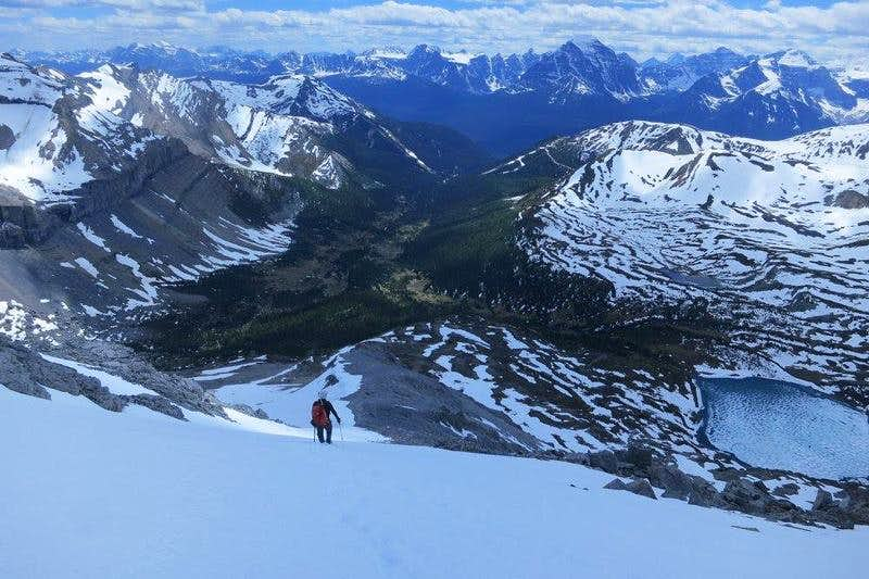 Ptarmigan Peak, Banff Spring Snow Ascent June 2017