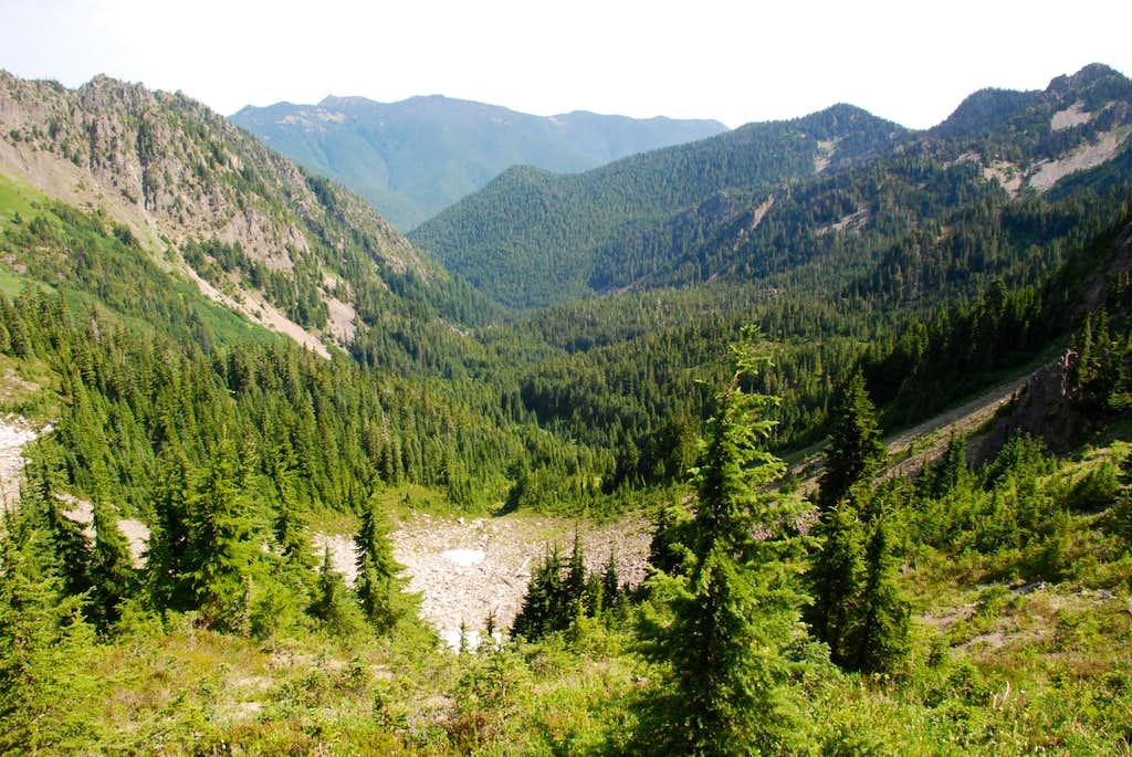 Upper Boulder Creek drainage