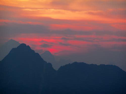 Sunset through Smoke