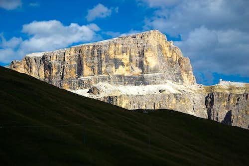 Sass Pordoi or Pordoispitze, 2952 m