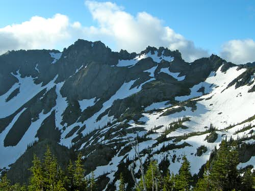 Boulder Ridge (Peak  6852)
