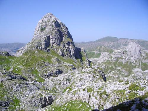 Pasjak (2,051 m) seen from...