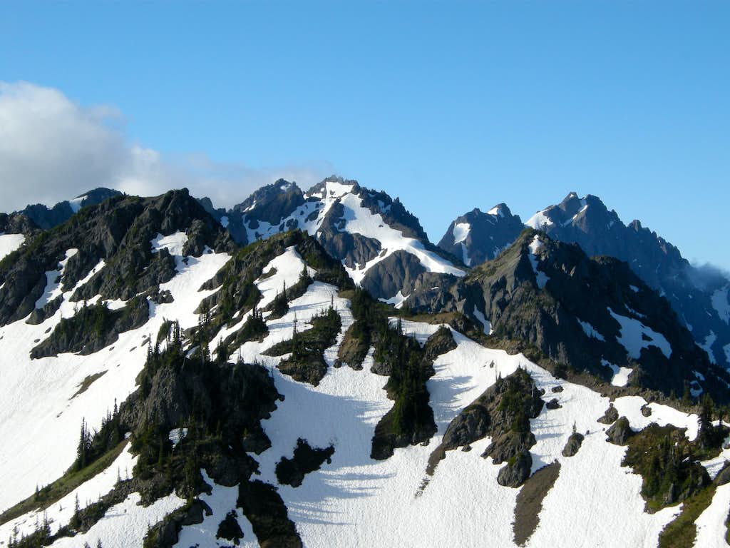 Warrior and Constance/Inner Constance from near Boulder Ridge